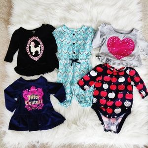 Baby girls 0-3 month bundle of clothes
